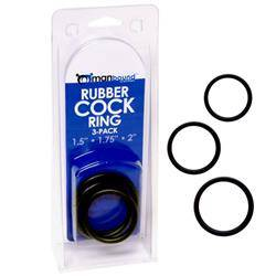 Pierścienie na penisa Manbound - Rubber Cock Ring 3-pack
